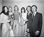 1975 - Miss Elida Lovely Hair Competition at Papillion Discotheque