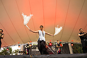 TAGO from Korea performing at Womadelaide 2017 Music Festival held between 10 - 13 March 2017 in Adelaide, South Australia