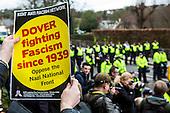 Dover, Anti Facist demonstration.