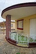 House in San Antonio de los Banos, Artemisa, Cuba.