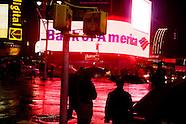 In the rain. New York sous la pluie. NY571A