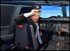 File photo - boris helps calm a passenger 031214