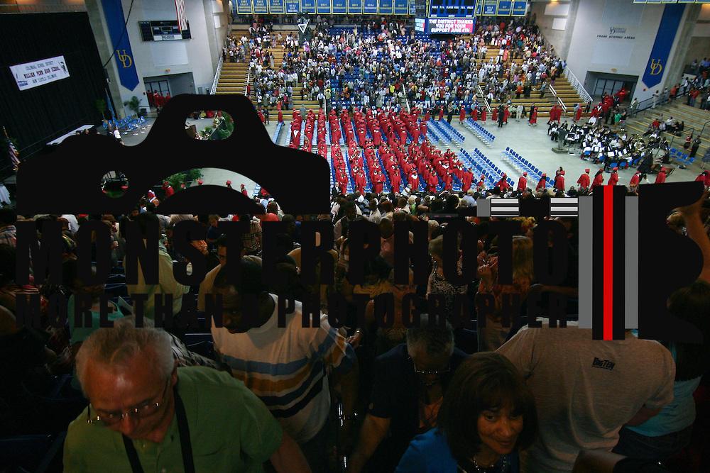 06/06/13 Newark DE: William Penn High School family and friends head for the exit to meet their love one outside Penn commencements exercises Thursday, June 6. 2013, at The Bob Carpenter Center in Newark Delaware.