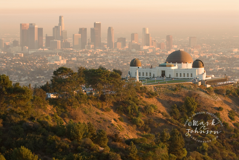 Griffith Observatory & Downtown skyline, Los Angeles, California