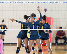 2016 A&T Volleyball vs Bethune-Cookman