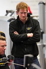 APR 29 2014 Prince Harry visits Tedworth House