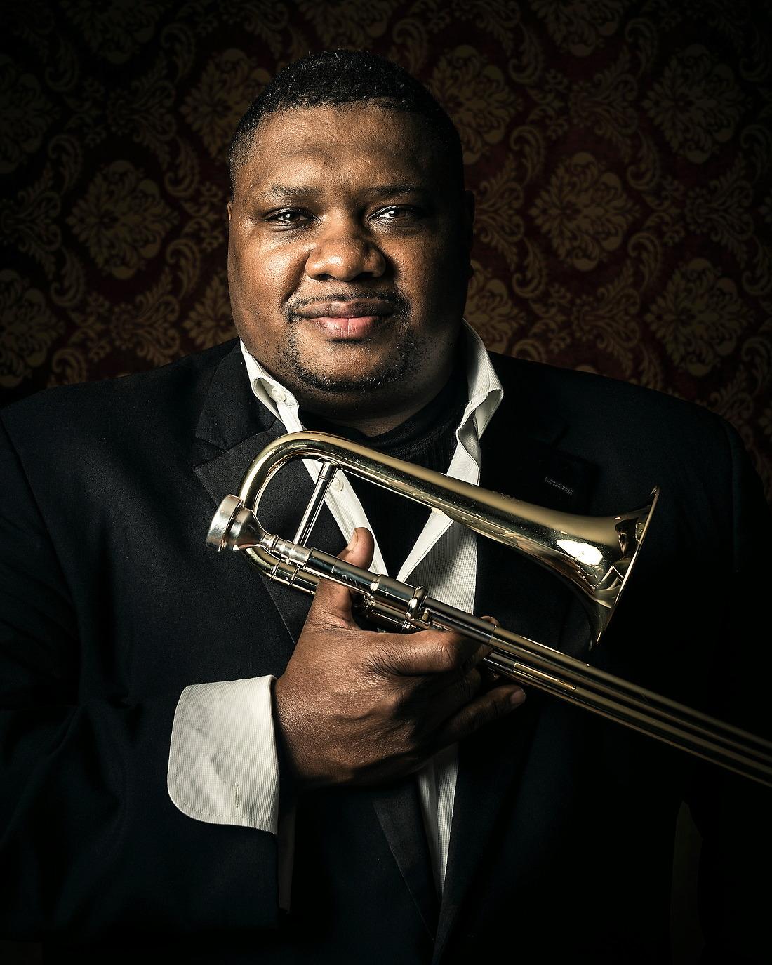 Wycliffe Gordon International Jazz Soloist. — © Jeremy Lock/