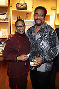 """30 March 2010-New York, NY- l to r: Kim Jasmine and Keith Davis at The Foundation for Social Change Announcement of Grammy Award-Winning Vocalist Patti Austin as The National Spokesperson for The Foundation for Social Change held at Longchamp on March 30, 2010 in Soho, New York City..The Foundation for Social Change mobilizes businesses to implement initiatives that benefit both their bottom line and the economic growth of their surrounding communities. We are a not-for-profit corporation focused primarily on U.S. issues. Our work is based on the principle: ?""""Do good to get good."""""""