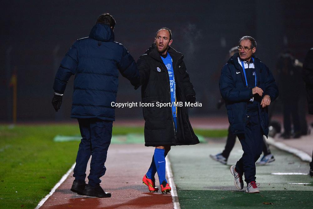 Thierry FROGER / Jean Michel LESAGE - 23.01.2015 - Creteil / Laval - 21eme journee de Ligue 2<br /> Photo : Dave Winter / Icon Sport