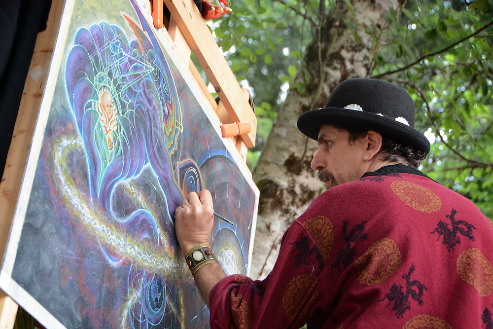 Joshua Levin at Beloved Sacred Arts Festival 2013
