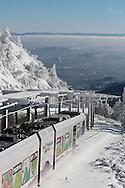 29/12/14 - CHAINE DES PUYS - PUY DE DOME - Le Puy de Dome, Grand site de France en cours de classement au patrimoine mondial de l UNESCO - Photo Jerome CHABANNE