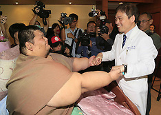DEC 11 2014 Asia's  fattest man receives the bariatric surgery