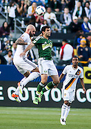 Soccer: LA Galaxy vs Timbers 20160410