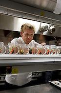 Gordon Ramsay, chef, at his restaurant in the Conrad Hotel, Tokyo, Japan. Sunday, April 20th 2008.