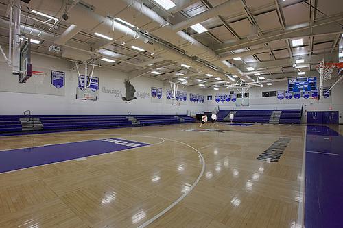 Image Gallery Interior High School Gym