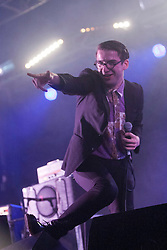 Spector play the Transmissions tent on Sunday at T in the Park 2012, held at Balado, in Fife, Scotland.