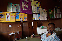 lander kerrapo looks after the clinic in wangamalo, it was started in 2004 by rita pademala and although rita has now left wangamalo, lander has learned enough medical skills from rita to be able to run the clinic succesfully with the help of seven other men from wangamalo.