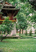Khuc Van Cac pavilion at the Temple of Literature