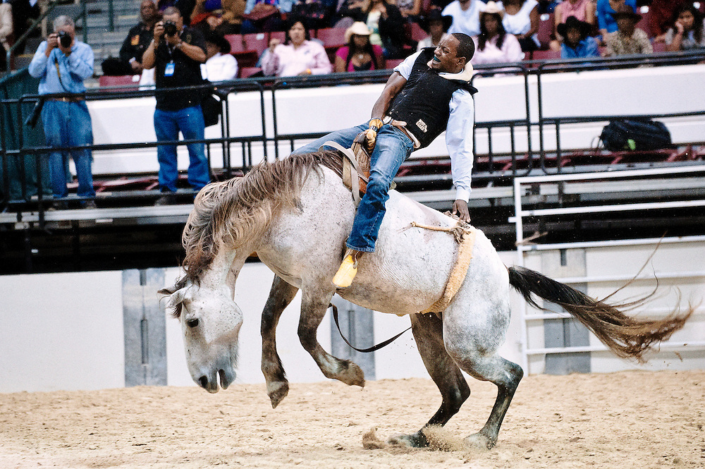 For 25 years the Bill Pickett Rodeo has traveled across the country telling the story of the African American cowboy...Since its inaugural event in Denver's Adam's County Arena back in 1984 the Bill Pickett Rodeo has introduced hundreds of thousands of youngsters to the African American rodeo experience...Named after the legendary Black rodeo pioneer, Bill Pickett was credited with creating the 'dogging' techniques used by today's cowboys.