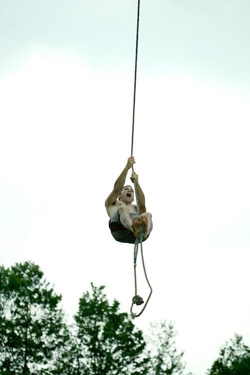 (August 13, 2008)..At the Eddie Adams Workshop Cleanup Weekend.