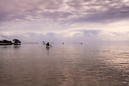 Kayakers enjoy the warm, shallow waters of Florida Bay in the southernmost part of Everglades National Park. WATERMARKS WILL NOT APPEAR ON PRINTS OR LICENSED IMAGES.