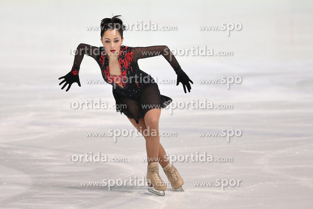 05.12.2015, Dom Sportova, Zagreb, CRO, ISU, Golden Spin of Zagreb, freies Programm, Damen, im Bild Elizaveta Tuktamysheva, Russia. // during the 48th Golden Spin of Zagreb 2015 ladys Free Program of ISU at the Dom Sportova in Zagreb, Croatia on 2015/12/05. EXPA Pictures &copy; 2015, PhotoCredit: EXPA/ Pixsell/ Davor Puklavec<br /> <br /> *****ATTENTION - for AUT, SLO, SUI, SWE, ITA, FRA only*****