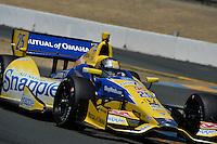Marco Andretti, Sonoma Raceway, Sonoma, CA USA 8/24/2014