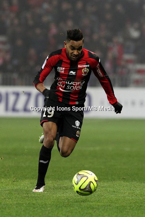 Jordan AMAVI  - 23.01.2015 - Nice / Marseille - 22eme journee de Ligue 1<br />Photo : Jean Christophe Magnenet / Icon Sport