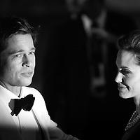 64 Mostra Cinema.nella foto Brad Pitt, Angelina Jolie.foto di Stefano Meluni