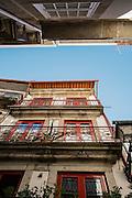 Narrow streets of Porto