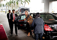 30-8-2016 JAKARTA - aankomst op het vliegveld Koningin Maxima bezoekt van dinsdag 30 augustus tot en met donderdag 1 september de Republiek Indonesi&euml; in haar functie van speciale pleitbezorger van de secretaris-generaal van de Verenigde Naties voor Inclusieve Financiering voor Ontwikkeling.  COPYRIGHT ROBIN UTRECHT<br /> <br /> 30-8-2016 JAKARTA - Queen Maxima visit on Tuesday, August 30th to Thursday, September 1st, the Republic of Indonesia in its role of special advocate of the Secretary-General of the United Nations for Inclusive Finance for Development. COPYRIGHT ROBIN UTRECHT