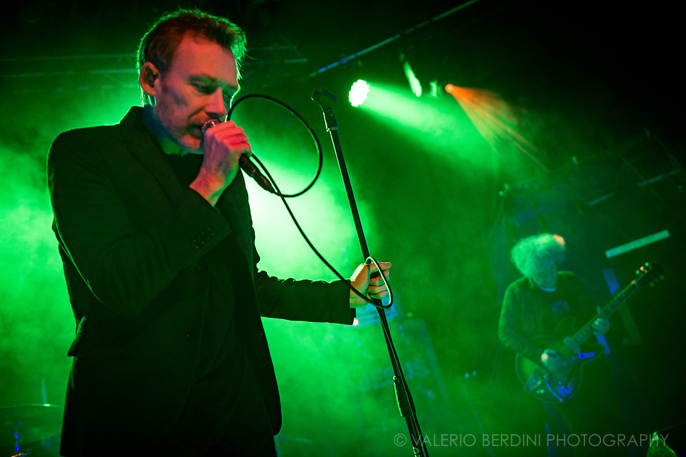 Reid Brothers of Scottish Band The Jesus and Mary Chain live at the Junction where they took the Damage and Joy tour, their first new album in 17 years, to a sold-out concert.