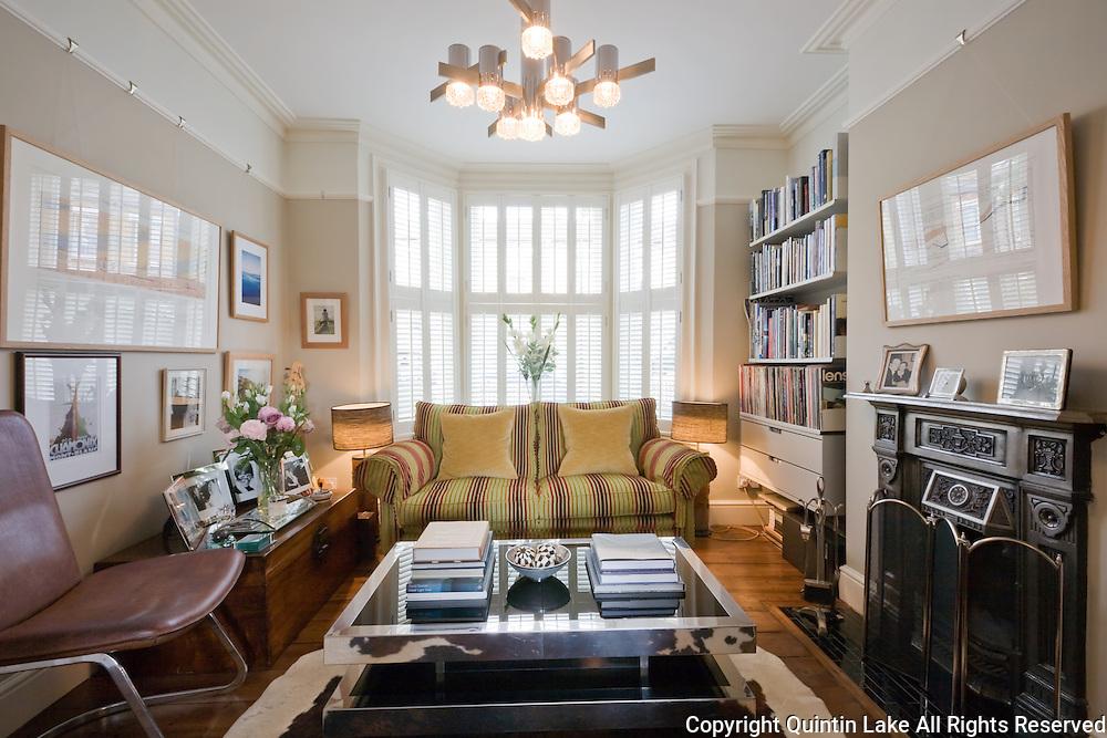 Refurbishment of 74 ulverscroft road east dulwich london for Living room ideas victorian terrace