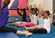 Middletown, New York - Children enjoy activities at the Center for Youth Programs at the YMCA of Middletown on May 2, 2015.