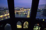 The Seine river. Paris view from bell towers. la balade des  clochers PR299A