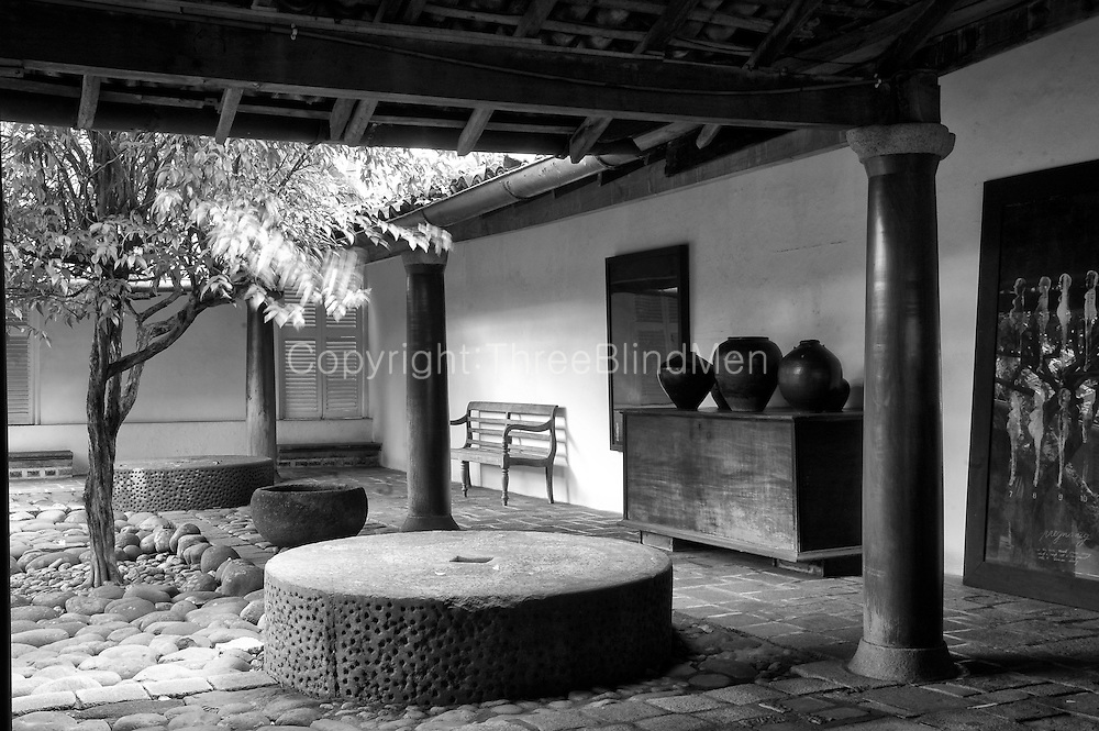 The Ena de Silva house. 5, Alfred Place. Colombo 3. <br /> Architect: Geoffrey Bawa.