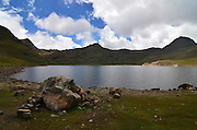 Wara Wara lake, source of Cochabamba drinking water, Bolivia