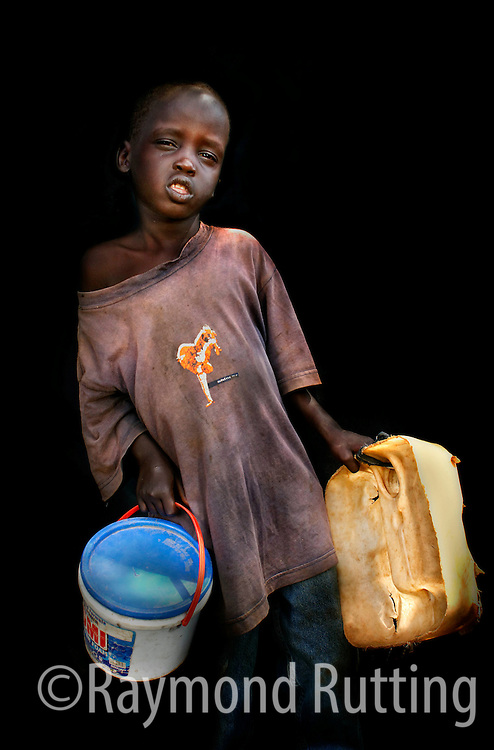 South Sudan - Project Eyes on Africa - Portrets of refugee's in three African Country's. photo raymond rutting