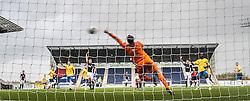 Another Cowdenbeath miss.<br /> Falkirk 6 v 0 Cowdenbeath, Scottish Championship game played at The Falkirk Stadium, 25/10/2014.
