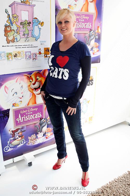 NLD/Amsterdam/20080409 - Presentatie Disney DVD en start Dutchykitten, Bridget Maasland