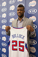 Basketball: Clippers introduces Reggie Bullock