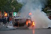 Paris Violence Labor Protest
