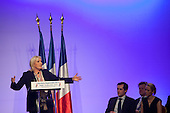 Marine Le Pen, National Front, Political Meeting