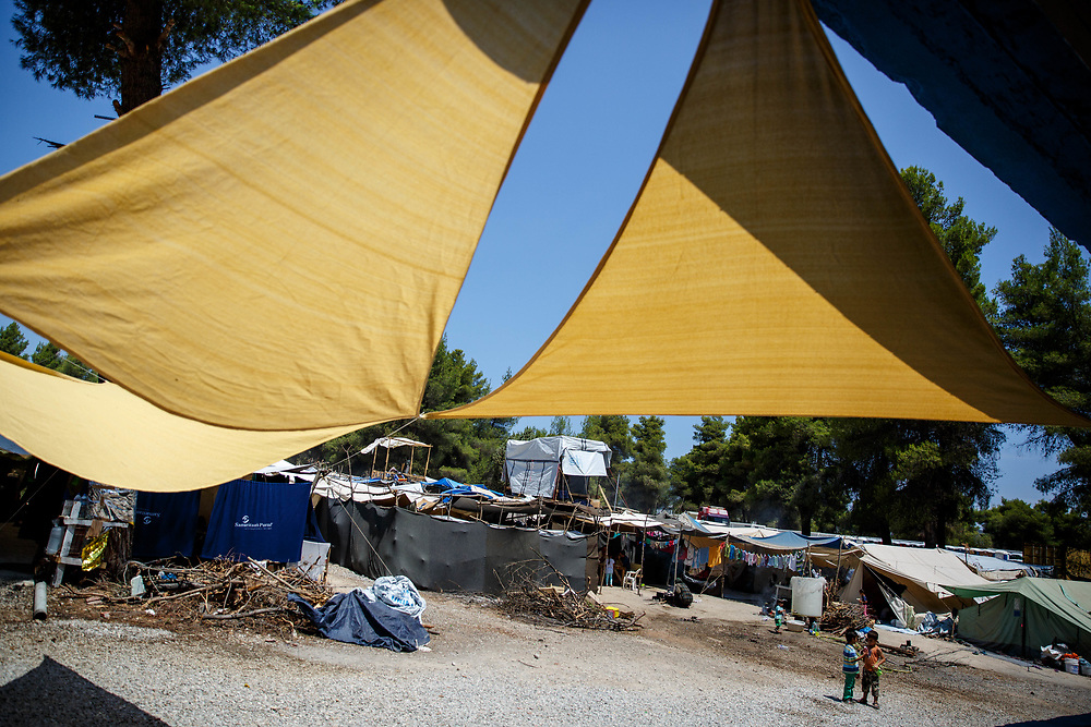 Ritsona refugee camp, Ritsona, Greece, July 2016.
