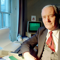 Flo Smith<br /> Gloucestershire, UK<br /> http://www.flosmith.co.uk<br /> <br /> Tony Benn in his London office in 1989.