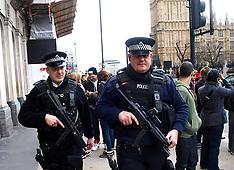 APR 16 2013 Police Patrol near Parliament Square