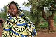 Woman in IDP camp in Butezi - Burundi. 10 November 2004. ONUB/Martine Perret