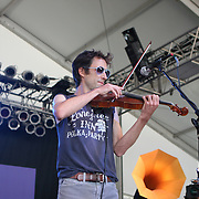 June 16, 2006; Manchester, TN.  2006 Bonnaroo Music Festival..Andrew Bird peforms at Bonnaroo 2006.  Photo by Bryan Rinnert