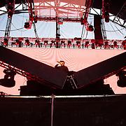 DJ Snake at the Bass Camp stage at the Pemberton Music Festival.  Pemberton BC, Canada