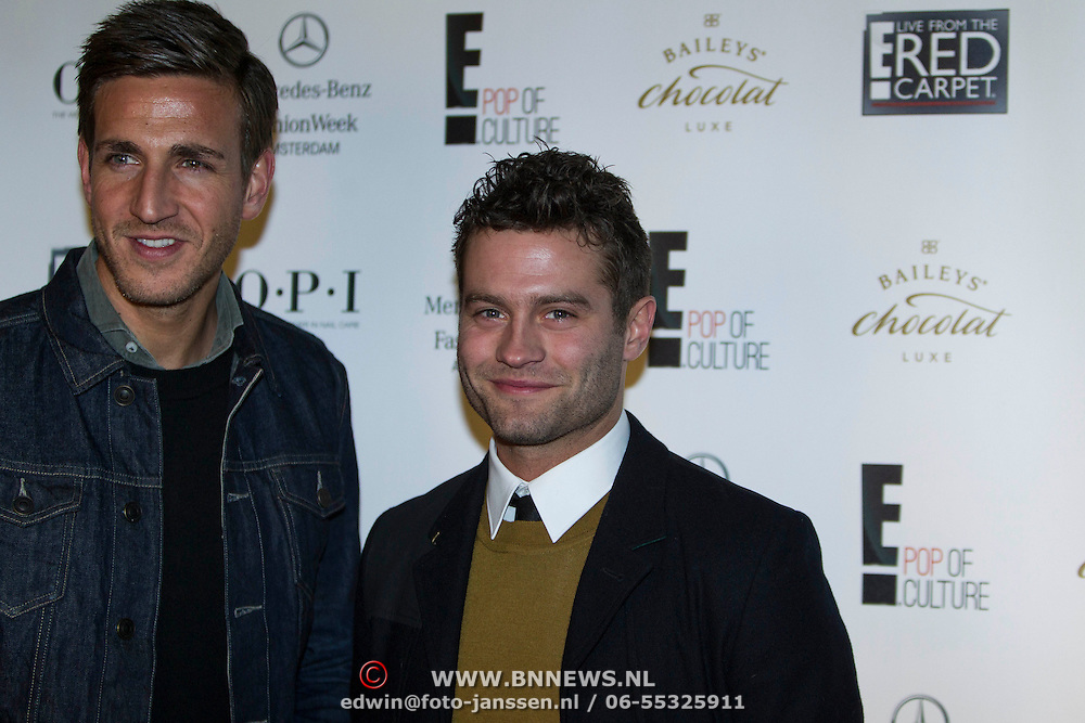 NLD/Amsterdam/20140124 - inloop E-entertainment Red Carpet party, Sacha Visser